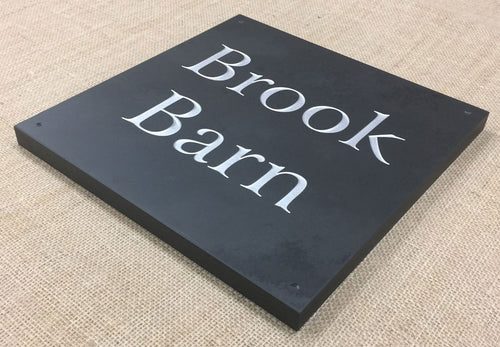 Slate Sign | 300mm x 300mm | 20mm Thick