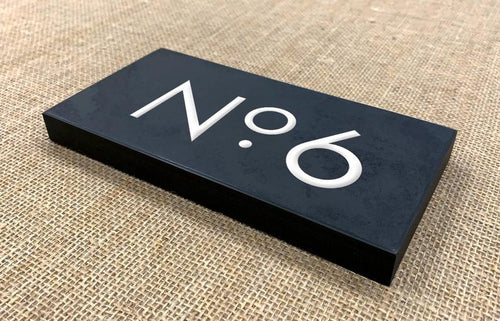 Slate Sign | 200mm x 100mm | 20mm Thick