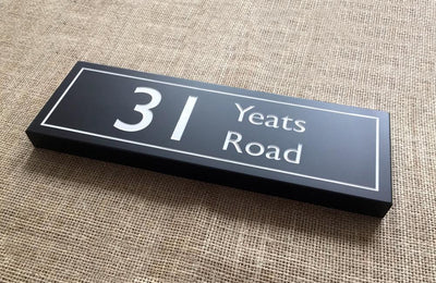 Slate Sign | 300mm x 100mm | 20mm Thick