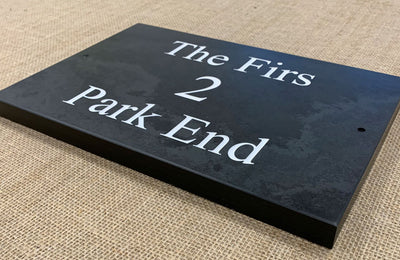 Slate Sign | 300mm x 200mm | 20mm Thick