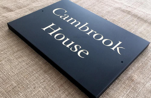 Slate Sign | 350mm x 250mm | 20mm Thick