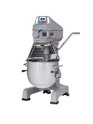 Globe SP20 20 Quart Countertop Commercial Planetary Mixer 3-Speed w/ Attachments