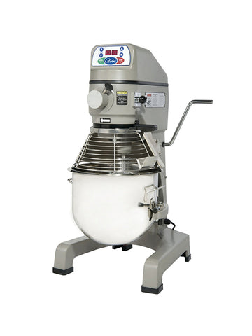 Globe SP25 25 Quart Countertop Commercial Planetary Mixer 3-Speed w/ Attachments