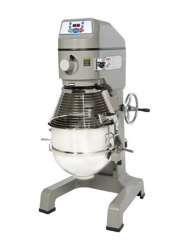 Globe SP40 40 Quart Gear Driven Commercial Planetary Mixer 3-Speed w/ Attachments