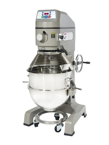 Globe SP60 60 Quart Gear Driven Commercial Planetary Mixer 3-Speed w/ Attachments