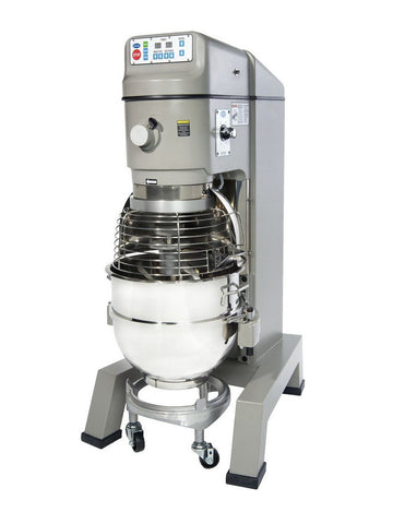 Globe SP62P 62 Quart Gear Driven Commercial Planetary Pizza Mixer 2-Speed w/ Attachments