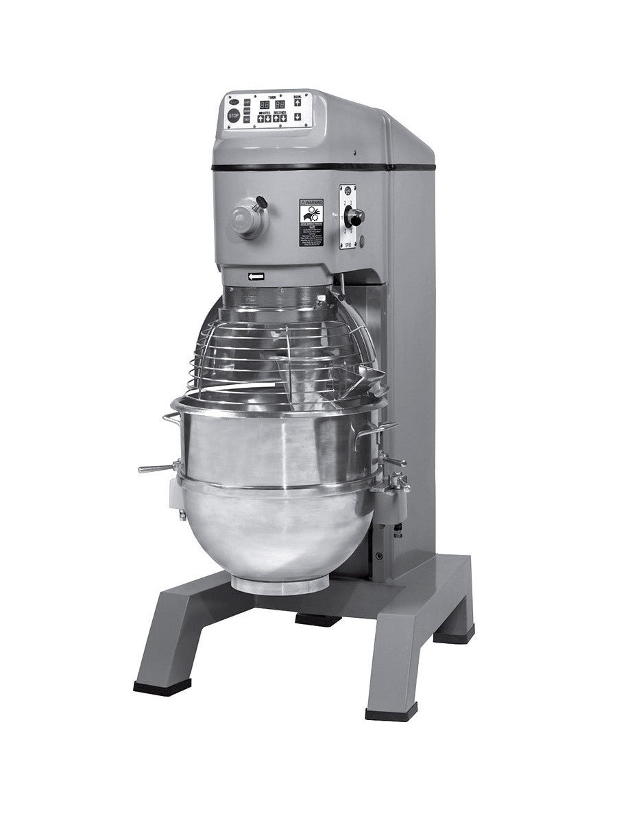 Globe SP80PL 80 Quart Gear Driven Commercial Planetary Mixer 4-Speed ...