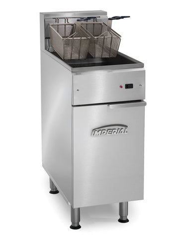 Imperial - IFS-40-E - 40 Lb Commercial Gas Electric Deep Fryer