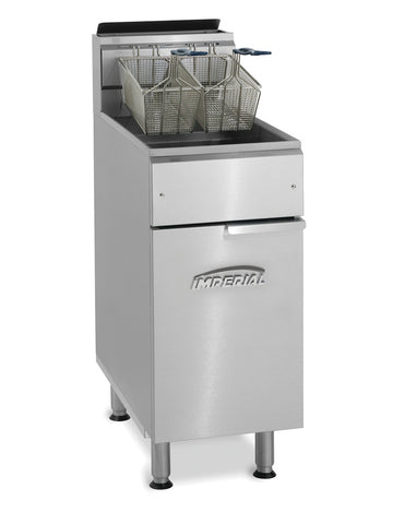 Imperial - IFS-40 - 40 Lb Commercial Gas Tube Fired Fryer