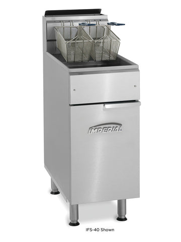 Imperial - IFS-50 - 50 Lb Commercial Gas Tube Fired Fryer