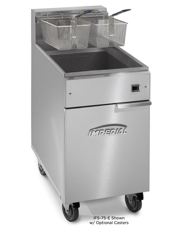 Imperial - IFS-75-E - 75 Lb Commercial Gas Electric Deep Fryer