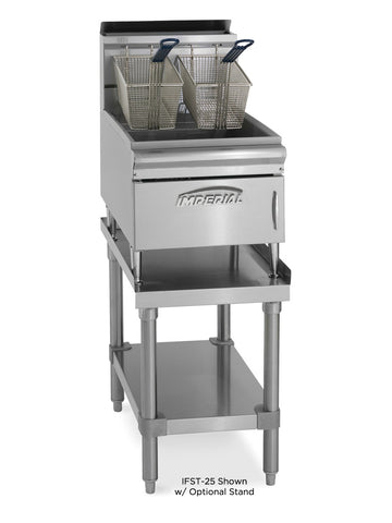 Imperial IFST-25 Commercial Counter Top 25lb Gas Deep Fat Fryer