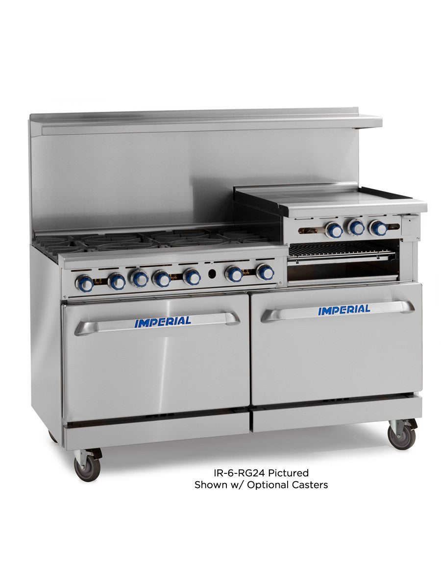 Imperial_Range_IR 6 G24_Commercial_60_Gas_Restaurant_Range_with_6_Burners_24_Raised_Griddle_Broiler_and_2_Standard_Ovens?v=1397256849 imperial range olympic store fixtures inc imperial convection oven wiring diagram at eliteediting.co