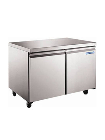 "NORPOLE NP2F-48WT 48"" Undercounter Freezer"