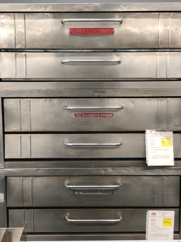 USED Bakers Pride Y-600 Double Deck Pizza Oven*