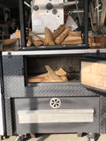 "J&R 36"" The Wood Show Broiler"