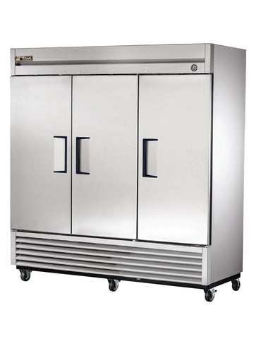 TRUE T-72F 3 Door -10°F Reach-In Freezer