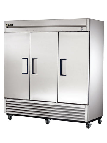 TRUE T-72 3 Door Reach-In Refrigerator
