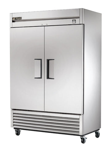 TRUE TS-49 2 Door Reach-In  Stainless Steel Refrigerator
