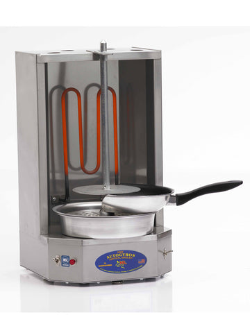 AUTOGYROS 4LES 10lb. Vertical Broiler - Electric