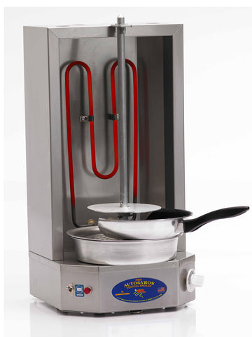 AUTOGYROS 4LEM 15lb. Vertical Broiler - Electric