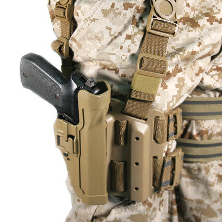 430504 BLACKHAWK SERPA® LEVEL 2 BERETTA 92/96/M9/M9A1 TACTICAL HOLSTER