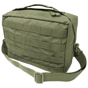 137-001 Utility Shoulder Bag, Olive Drab
