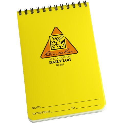 4x6 Job Safety Daily Log