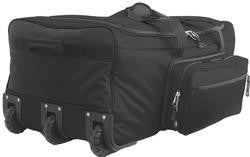 "9133-BK 33"" Wheeled Duffle Monster Bag"
