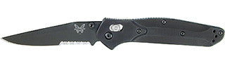 943SBK Osborne ComboEdge®/ BK1 Coated Blade/ Black Handle