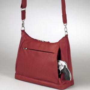HC-G-90/RD Large Hobo Sac in Red