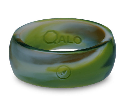 QALO Men's Camo Silicone Ring