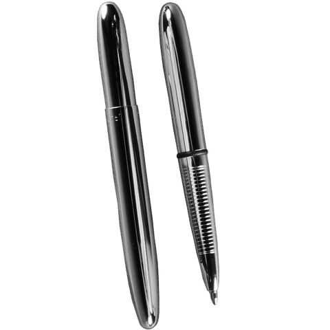 All-Weather Chrome Metal Bullet Pen
