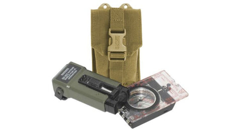 38CL38 COMPASS/STROBE POUCH WITH SPEED CLIPS