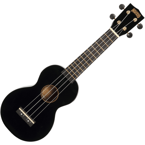 Mahalo MR1BK Rainbow Series Soprano Ukulele – Black