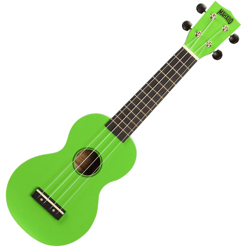 Mahalo MR1GN Rainbow Series Soprano Ukulele – Green