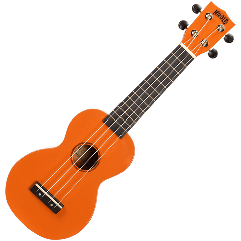 Mahalo MR1OR Rainbow Series Soprano Ukulele – Orange