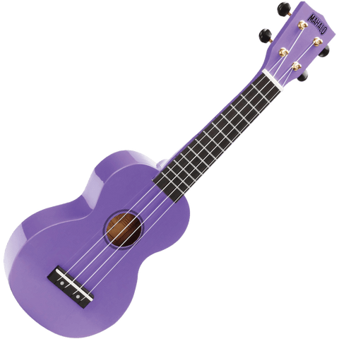 Mahalo MR1PP Rainbow Series Soprano Ukulele – Purple