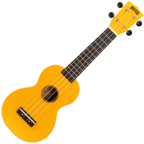 Mahalo MR1YW Rainbow Series Soprano Ukulele – Yellow