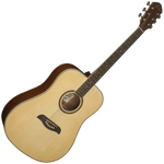 Oscar Schmidt OG2N Dreadnought Guitar — Natural