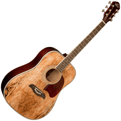 Oscar Schmidt OG2SM Dreadnought Guitar — Spalted Maple