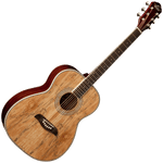 Oscar Schmidt OF2SM Folk Guitar — Spalted Maple