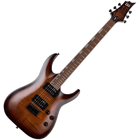 ESP LTD H-200FM DBSB (Dark Brown Sunburst) – LH200FMDBSB