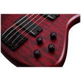 Schecter Stiletto Custom-5 Vampyre Red Satin (VRS) #2538