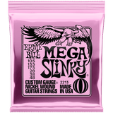 Ernie Ball Mega Slinky Nickel Electric 2213 10.5-48