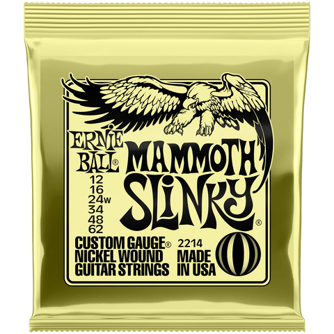 Ernie Ball Mammoth Slinky Nickel Electric 2214 .012-.062