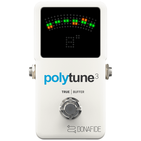 TC Electronic Polytune 3 Compact Polyphonic Tuner