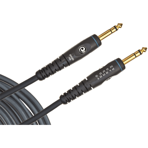 D'Addario Custom Series Instrument Cable, Stereo (TRS) – PW-GS
