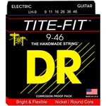 DR Strings LH-9 Tite-Fit Nickel Electric Light-N-Heavy 9-46