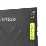 D'Addario XTE0946, XT Electric Nickel Plated Steel, Super Light Top/Regular Bottom, 09-46